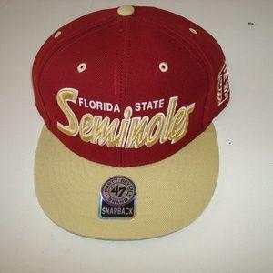 Other - FSU SEMINOLES VINTAGE SNAPBACK HAT CAP 90S